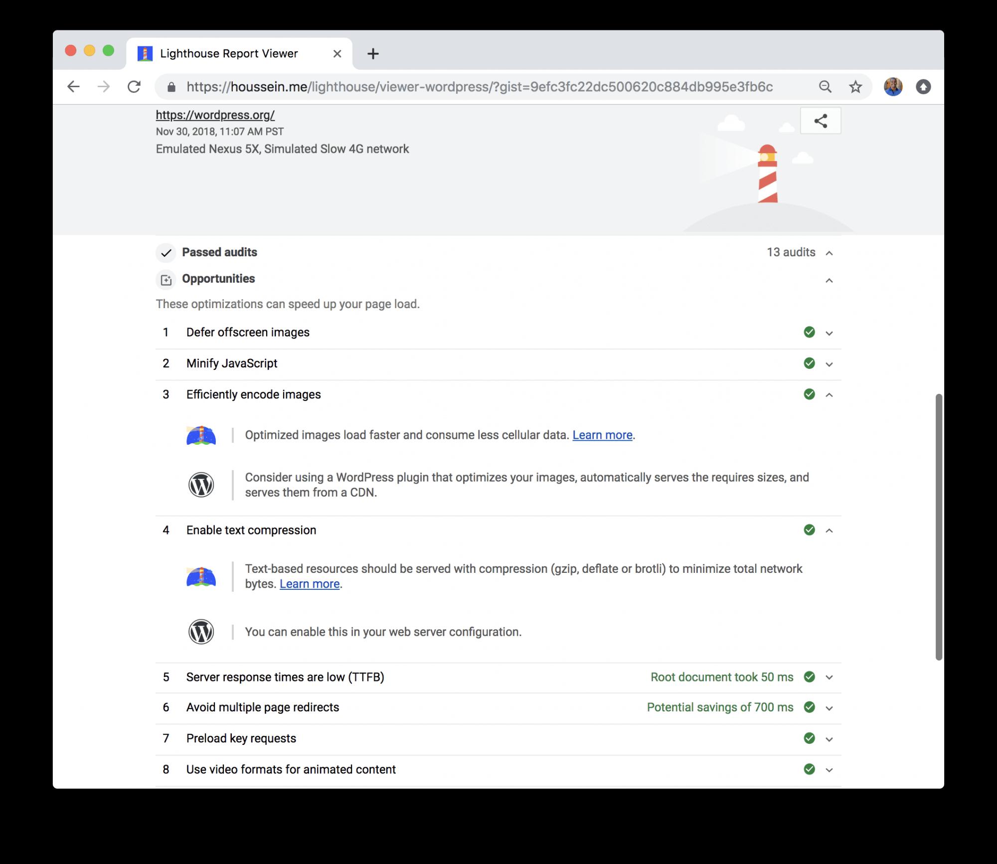 Google добавит в Lighthouse функции для аудита конкретных CMS
