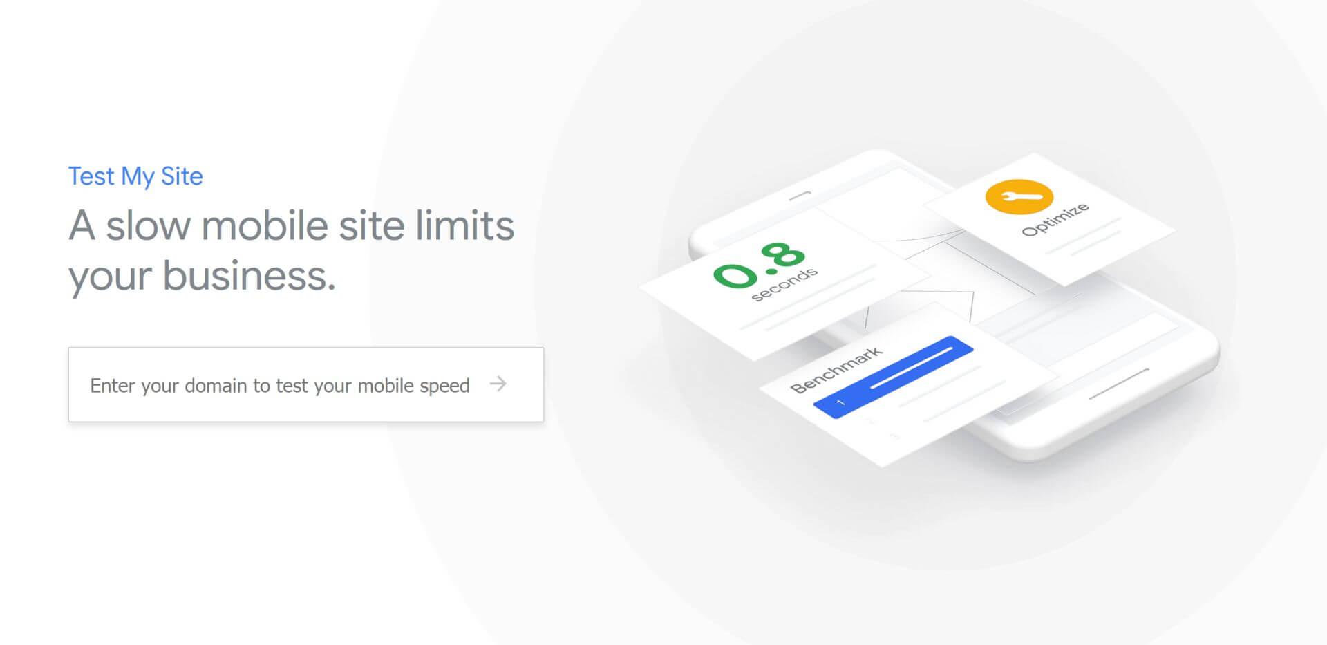 Google переработал инструмент Test My Site