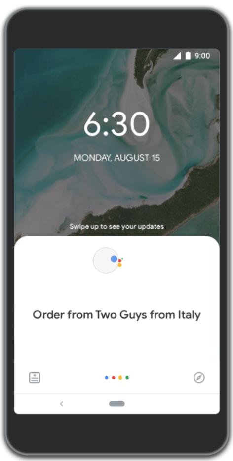Google позволил заказывать еду прямо из поиска, Карт и Ассистента