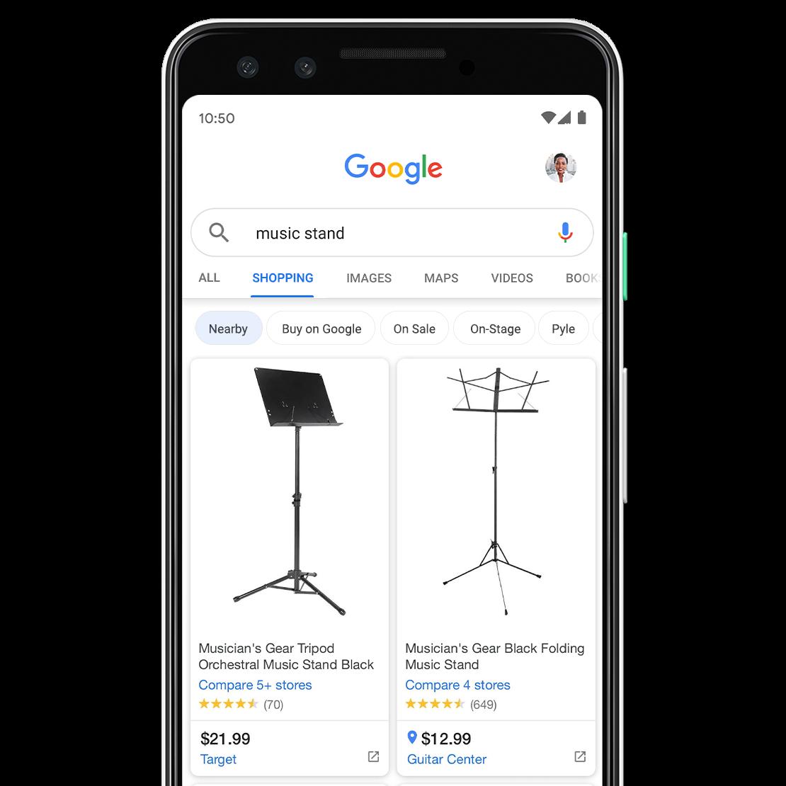 Google улучшил результаты выдачи в разделе «Покупки»