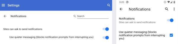 В браузере Google Chrome версии 80 появится функция блокировки всплывающих уведомлений от сайтов