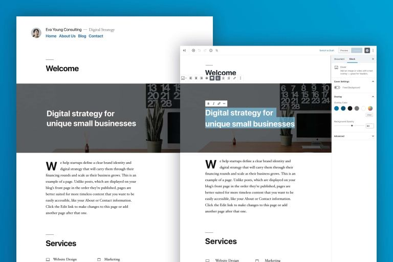 Запущен WordPress 5.0 Bebo