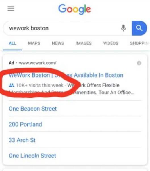 Google Ads начал тестировать новое автоматическое расширение