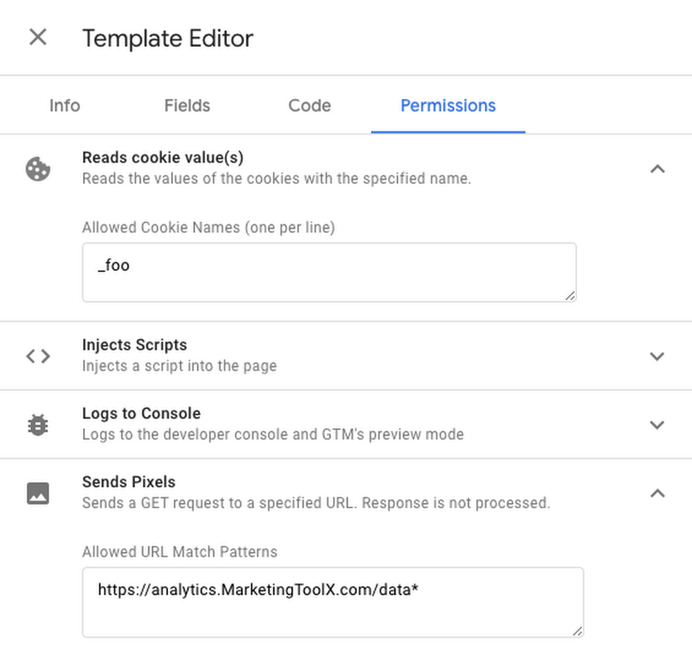 Google Tag Manager представил пользовательские шаблоны
