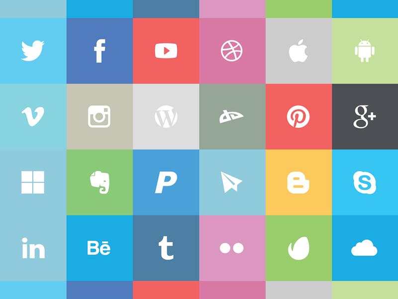 50+ наборов бесплатных иконок для сайта