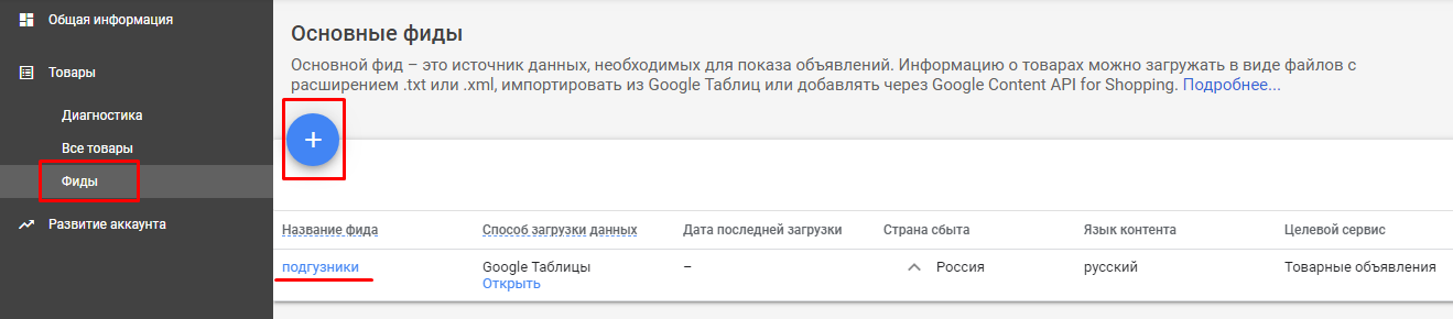 Как создать кампанию Google Shopping