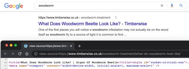 Google начал отображать H1 и H2 вместо мета-тега Title в выдаче