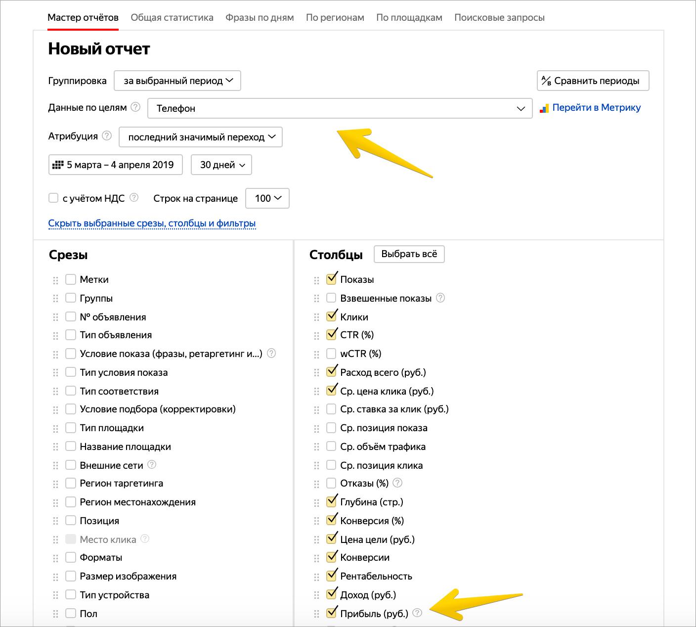 Ключевые цели Яндекс.Директа вышли из беты