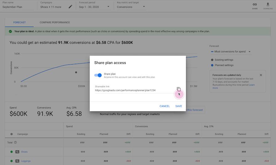 Google Ads добавил новые функции в Планировщик результатов