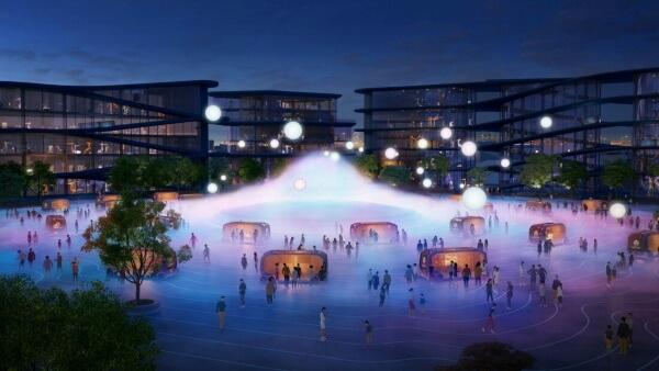 Toyota построит в Японии Woven City - город из фантастики с беспилотниками и роботами