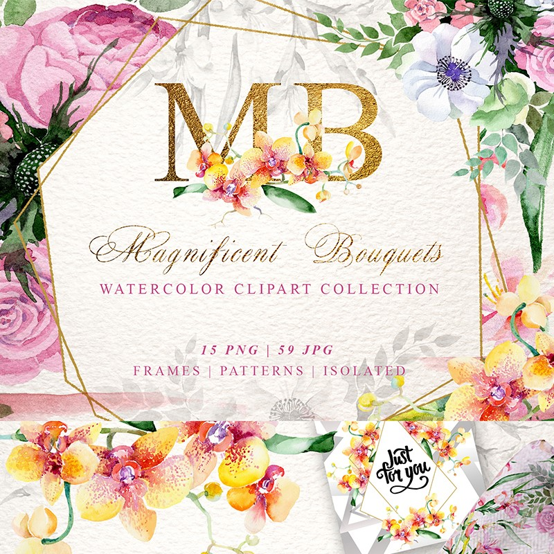 Иллюстрация Magnificent Bouquets