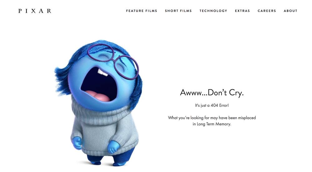 Как должна выглядеть страница с 404 ошибкой