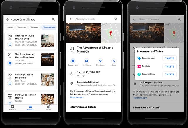 Google Search Console изменил отчет о разметке мероприятий
