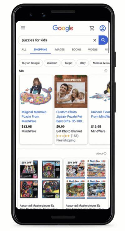 Объявления в Google Покупках становятся бесплатными по всему миру