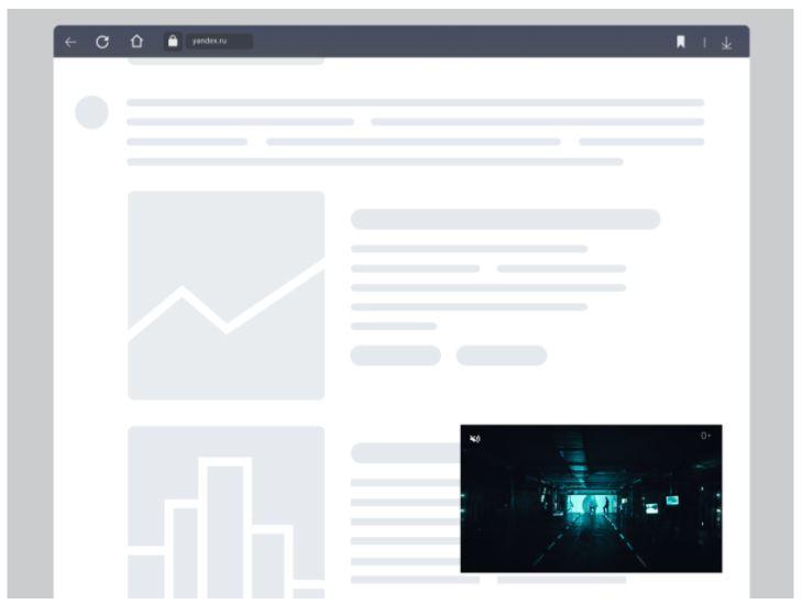 Владельцы сайтов с помощью РСЯ могут создавать ленту видеорекомендаций